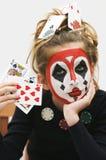 πόκερ κοριτσιών Στοκ Εικόνες