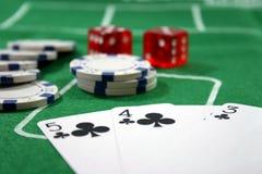 πόκερ παιχνιδιού Στοκ Εικόνα