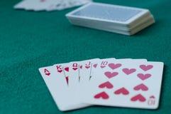 Πόκερ παιχνιδιού Στοκ εικόνα με δικαίωμα ελεύθερης χρήσης