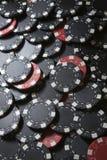 πόκερ σωρών Στοκ Εικόνες