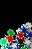 πόκερ τσιπ Στοκ Φωτογραφίες