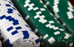 πόκερ τσιπ Στοκ εικόνα με δικαίωμα ελεύθερης χρήσης