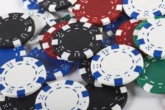 πόκερ τσιπ Στοκ φωτογραφία με δικαίωμα ελεύθερης χρήσης