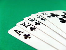 πόκερ τυχερού παιχνιδιού &la Στοκ Εικόνες