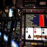 Πόκερ χαρτοπαικτικών λεσχών Στοκ Εικόνα
