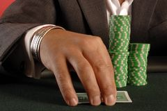 πόκερ 02 Στοκ Εικόνες