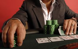 πόκερ 09 Στοκ φωτογραφία με δικαίωμα ελεύθερης χρήσης