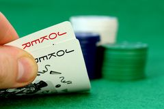 πόκερ στοκ φωτογραφία με δικαίωμα ελεύθερης χρήσης