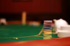 πόκερ Στοκ Φωτογραφία