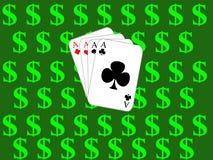 πόκερ Στοκ φωτογραφίες με δικαίωμα ελεύθερης χρήσης