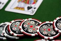 πόκερ 7 Στοκ εικόνα με δικαίωμα ελεύθερης χρήσης