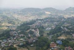 Πόλεις και χωριά στοκ εικόνες με δικαίωμα ελεύθερης χρήσης