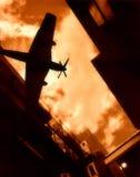 πόλεμος αεροπλάνων Στοκ φωτογραφίες με δικαίωμα ελεύθερης χρήσης