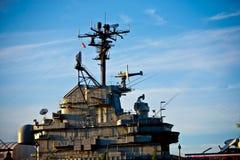 πόλεμος σκαφών λιμένων Στοκ Εικόνα
