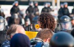 πόλεμος στάσεων λουλο&u Στοκ Εικόνα