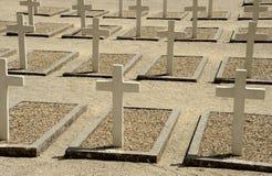 Πόλεμος cemetry στη Γαλλία Στοκ Φωτογραφία