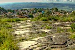 Πόλης άποψη από την κορυφή Στοκ Εικόνες