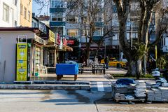 Πόλης κέντρο Cinarcik - Τουρκία Στοκ Φωτογραφίες