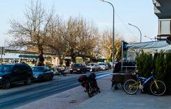 Πόλης κέντρο Cinarcik - Τουρκία Στοκ φωτογραφίες με δικαίωμα ελεύθερης χρήσης