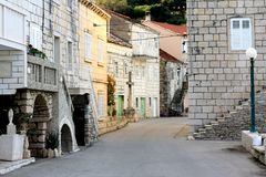 Πόλης λεπτομέρεια της Κροατίας Racisce Στοκ Εικόνες