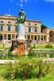 Πόλης παλάτι Ελλάδα της Κέρκυρας Στοκ φωτογραφία με δικαίωμα ελεύθερης χρήσης