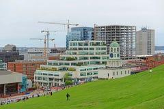 Πόλης ρολόι του Χάλιφαξ, Νέα Σκοτία, Καναδάς Στοκ εικόνα με δικαίωμα ελεύθερης χρήσης