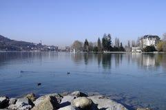πόλης όψη του Annecy Στοκ εικόνα με δικαίωμα ελεύθερης χρήσης