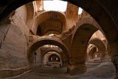 πόλης zenobia της Συρίας halabia Στοκ Εικόνες