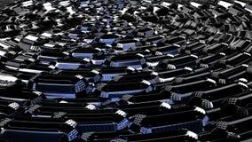 Πόλη άνθρακα του μέλλοντος στοκ φωτογραφίες