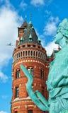 πόλη αγαλμάτων αιθουσών Στοκ Φωτογραφίες