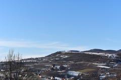 Πόλη από τα βουνά Στοκ φωτογραφία με δικαίωμα ελεύθερης χρήσης