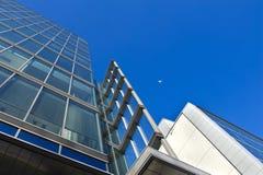 πόλη αρχιτεκτονικής σύγχρ& Στοκ φωτογραφία με δικαίωμα ελεύθερης χρήσης