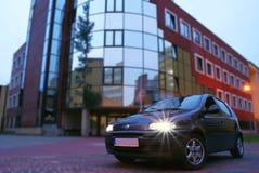 πόλη αυτοκινήτων Στοκ φωτογραφίες με δικαίωμα ελεύθερης χρήσης