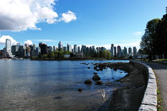 πόλη Βανκούβερ του Καναδ Στοκ φωτογραφία με δικαίωμα ελεύθερης χρήσης