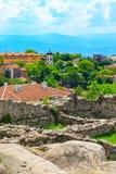 Πόλη, Βουλγαρία και καταστροφές Plovdiv του παλαιού φρουρίου Στοκ Φωτογραφίες