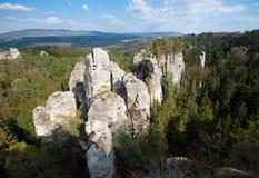 Πόλη βράχου Hruba Skala Βοημίας παράδεισος - Cesky Raj - Δημοκρατία της Τσεχίας στοκ εικόνες