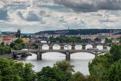 πόλη γεφυρών στοκ εικόνες