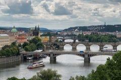πόλη γεφυρών στοκ φωτογραφία