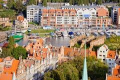 πόλη Γντανσκ Πολωνία Στοκ φωτογραφία με δικαίωμα ελεύθερης χρήσης
