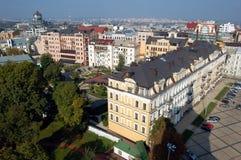 πόλη ευρωπαϊκό Κίεβο Στοκ Εικόνα