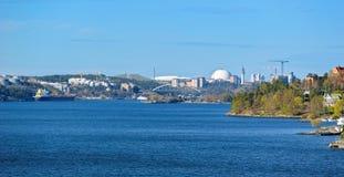 Πόλη θαλασσίως Στοκ εικόνες με δικαίωμα ελεύθερης χρήσης