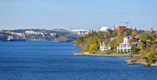 Πόλη θαλασσίως Στοκ Εικόνες