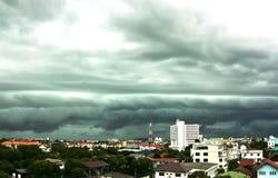 πόλη θύελλας στοκ εικόνες