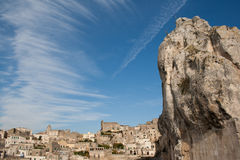 πόλη Ιταλία ιταλικό $matera στοκ εικόνα