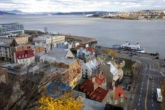 πόλη Κεμπέκ Στοκ φωτογραφία με δικαίωμα ελεύθερης χρήσης