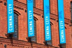 πόλη κινηματογράφων Στοκ φωτογραφία με δικαίωμα ελεύθερης χρήσης