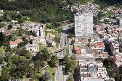 πόλη Κολομβία της Μπογκοτά στοκ φωτογραφία
