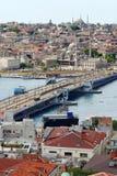 πόλη Κωνσταντινούπολη πα&lambda Στοκ φωτογραφία με δικαίωμα ελεύθερης χρήσης