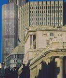 πόλη Λονδίνο τραπεζών Στοκ Εικόνες