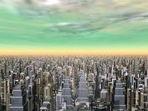 πόλη μέγα διανυσματική απεικόνιση